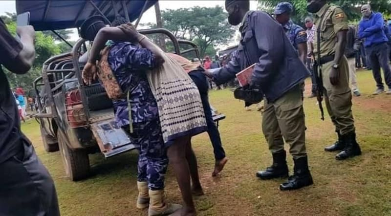 Married Ugandan Woman Gets Stuck To Her Lover During Sex