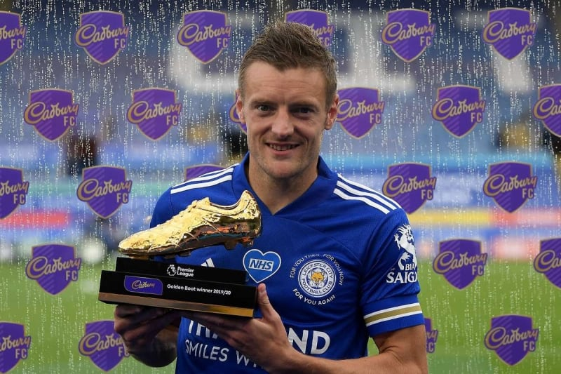 Vardy Wins Premier League Golden Boot. Beats Ings, Aubameyang & Sterling
