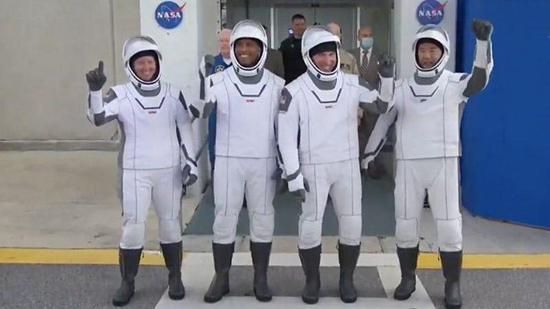 Four Astronauts Make History With Spacex Launch. Joe Biden Reacts