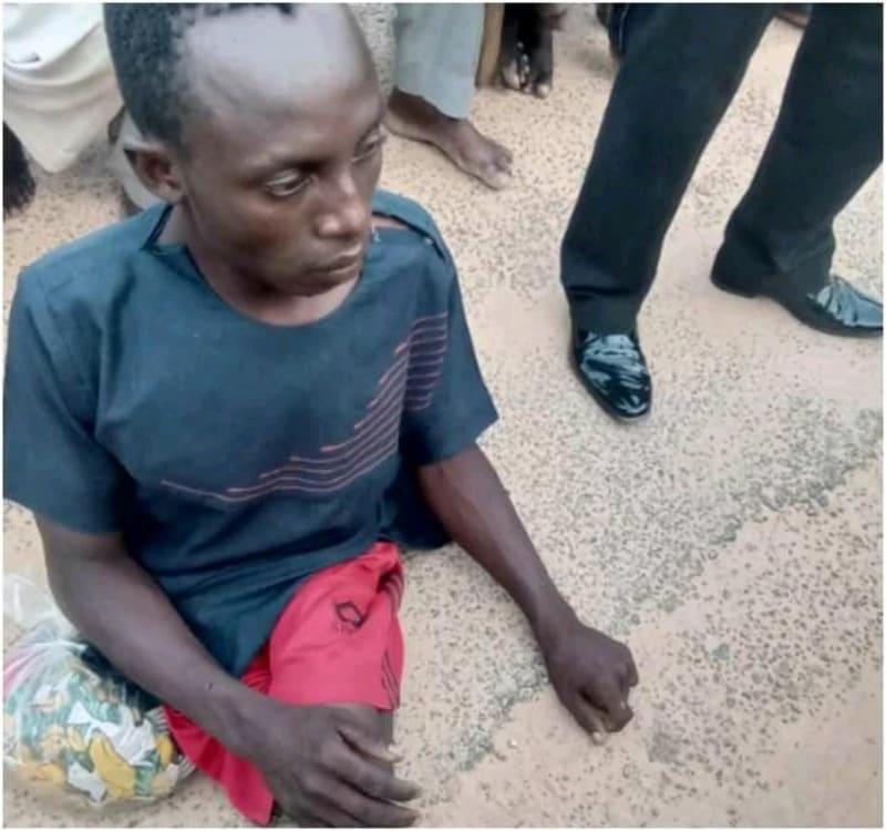 Crippled Kidnapper Buhari Haruna Arrested While Collecting ₦2M Ransom In Katsina