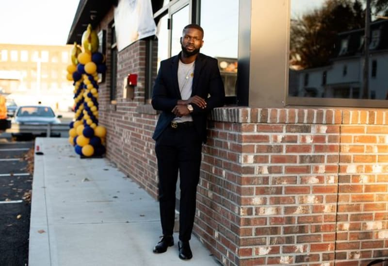 Adedeji Was Arrested For Weed At 13, Now Owns A Weed Startup At 27 - Bloomberg