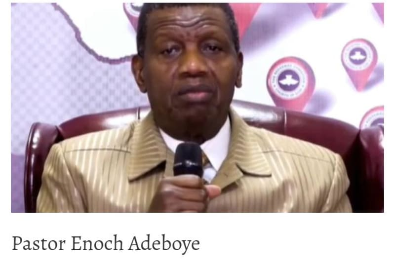FG Suspends Adeboye's Helicopter From Flying Over Expired Papers, Safety Concern