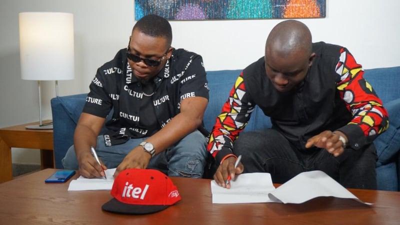 Itel Mobile Unveils Olamide As Brand Ambassador