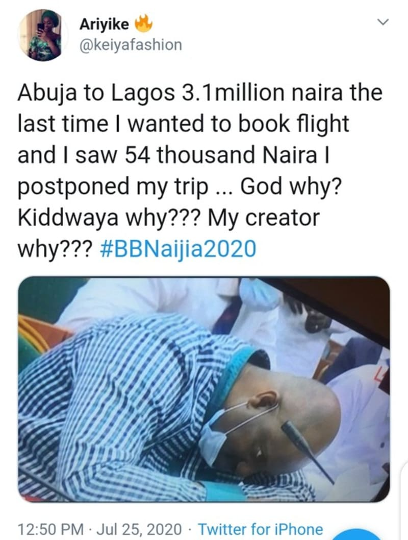 Kiddwaya Spent ₦3.1M On Private Jet From Abuja To Lagos For BBNaija 2020