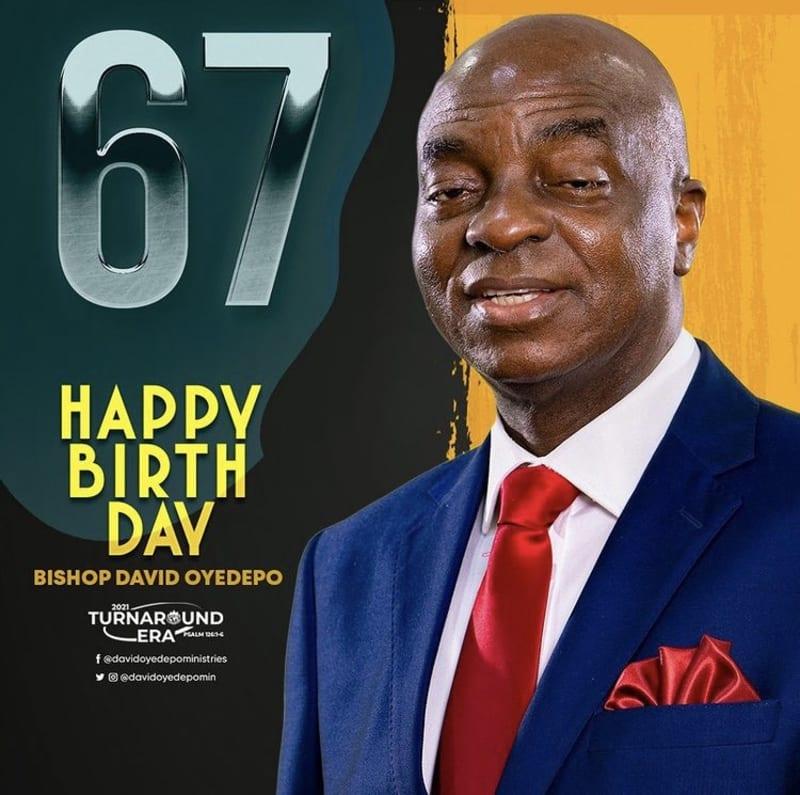 Bishop David Oyedepo Celebrates His 67th Birthday Today