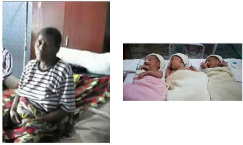 64-Year-Old Bayelsa Woman Gives Birth To Triplets After Many Years Of Marriage