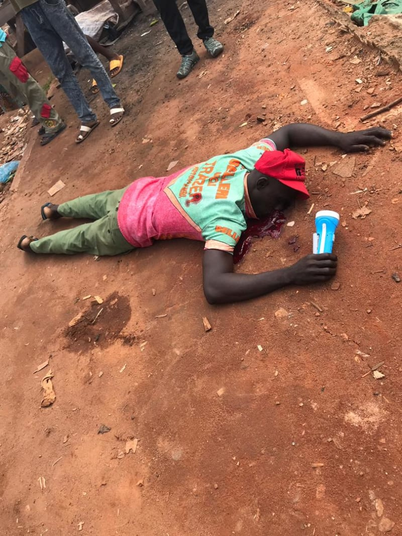 Cult Clashes Leave Dead Bodies On The Streets Of Benin City (Graphic)