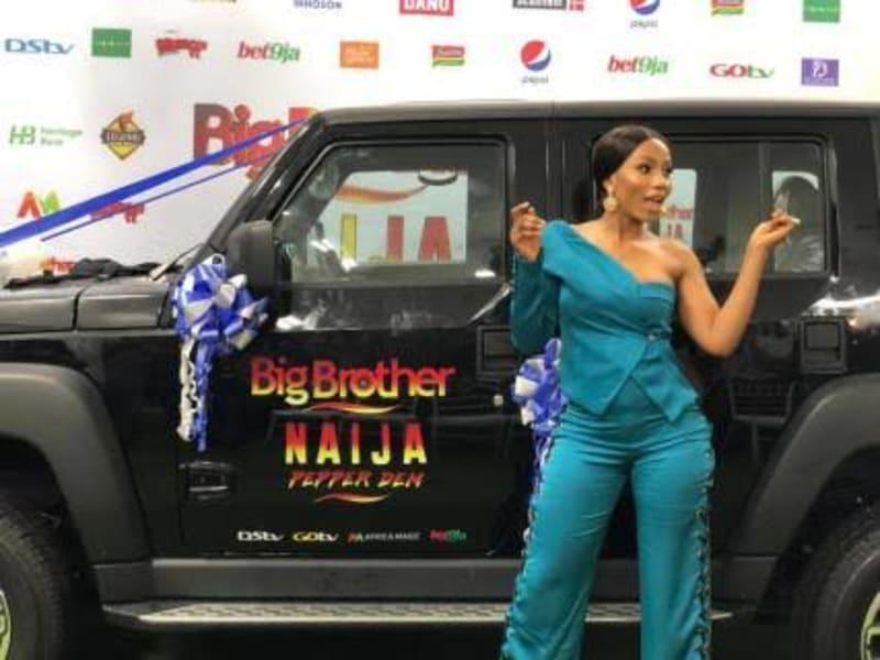 bbnaija: nigerians react to the car mercy got as winner