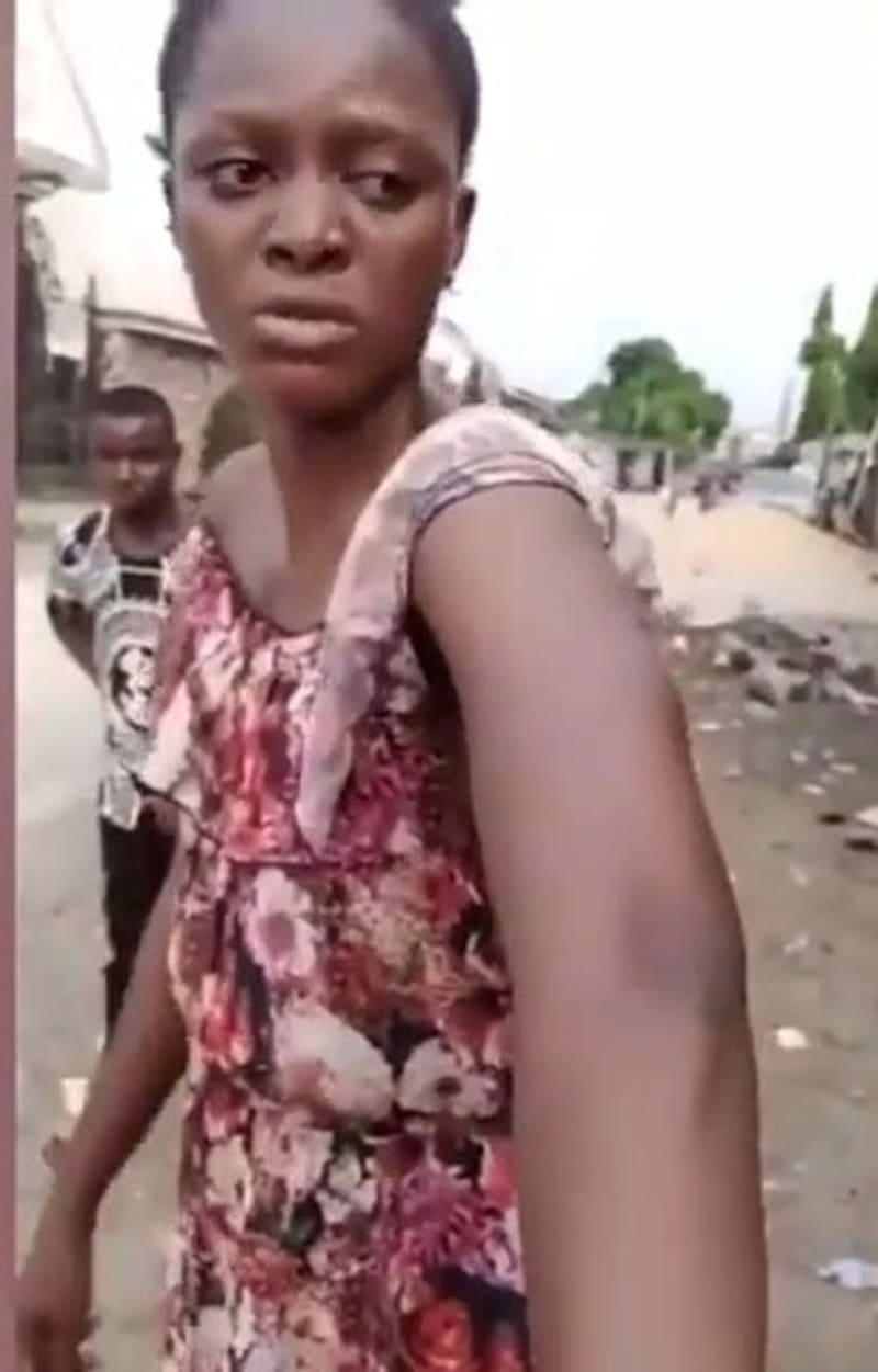 'Soldiers Flogged Me For Not Greeting Them In Lagos' - Lady Cries Out (Video)