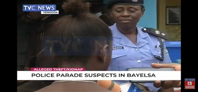 Police Parade 14-Year-Old Girl Who Left Home To Be With Facebook Lover