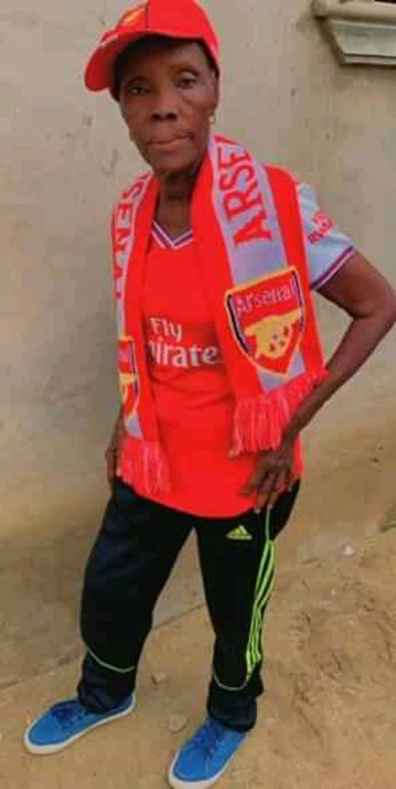 Mama Arsenal Awarded N250,000 For Her Passion
