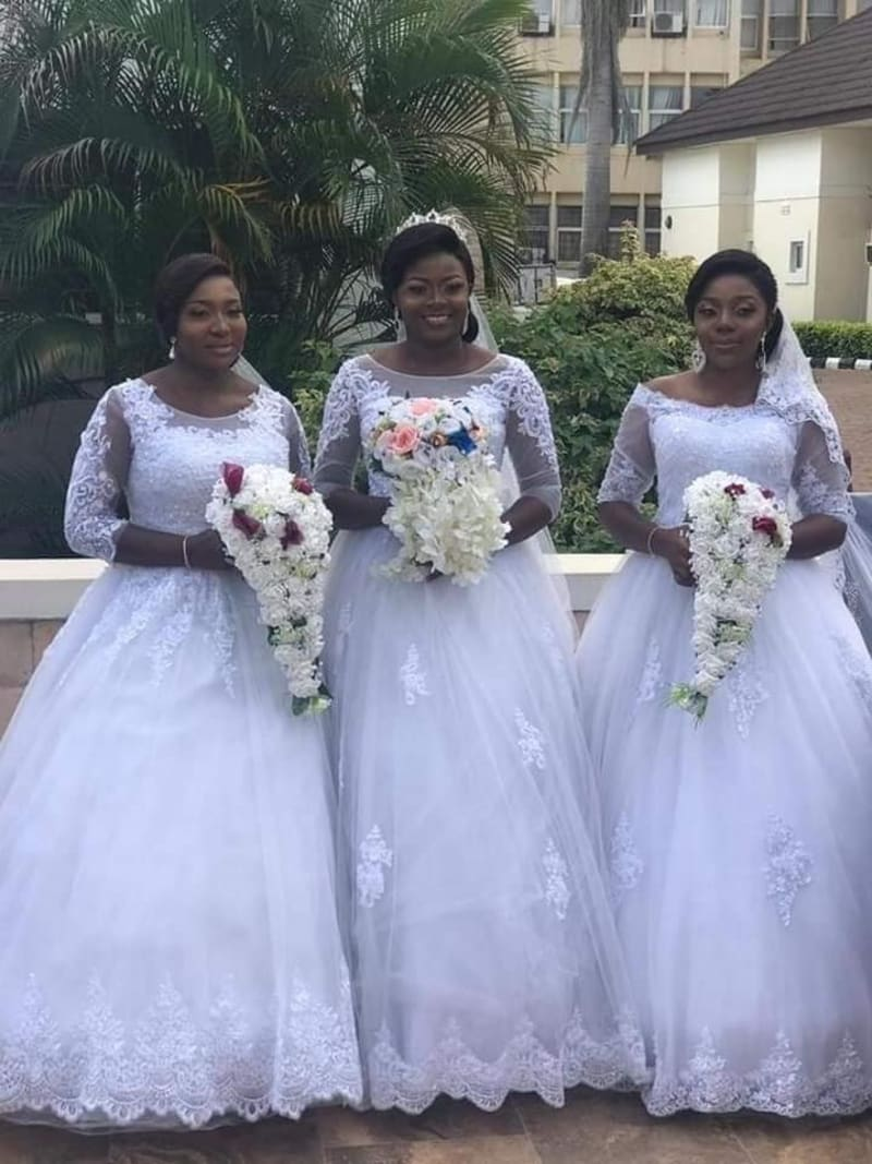 Two Sets Of Triplets Marry Each Other On The Same Day