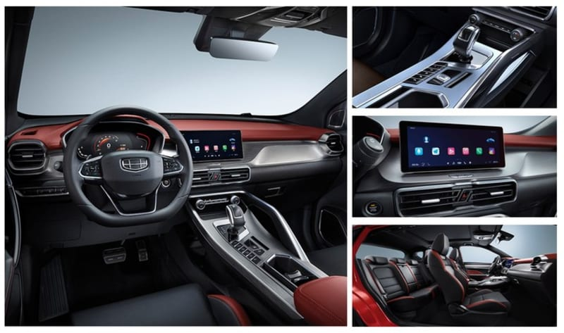 Coolray: GEELY Nigeria Introduces Its New High-Tech Sporty Compact SUV Model