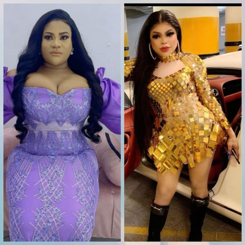 'You Carry Maggots, Stink & Now A Pig' - Nkechi Blessing Fires Back At Bobrisky