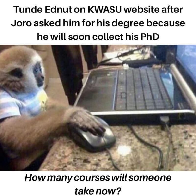 Tunde Ednut And Joro Olumofin Are Fighting Checkout Hilarious Meme Collection Joro olumofin drags tunde ednut in the mud for cyber bullying him. tweetszone