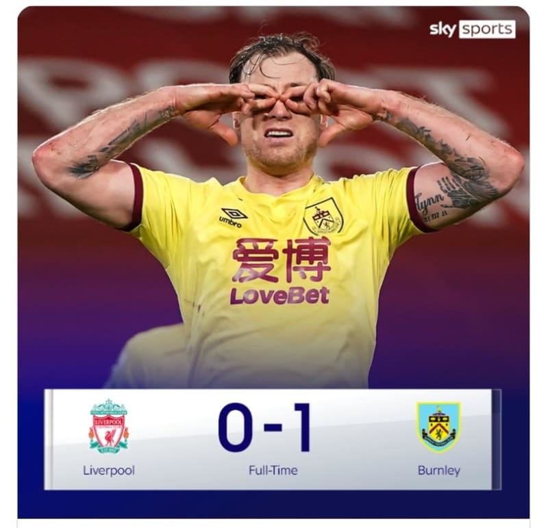 Liverpool's 68-Game Unbeaten Home Run Comes To An End
