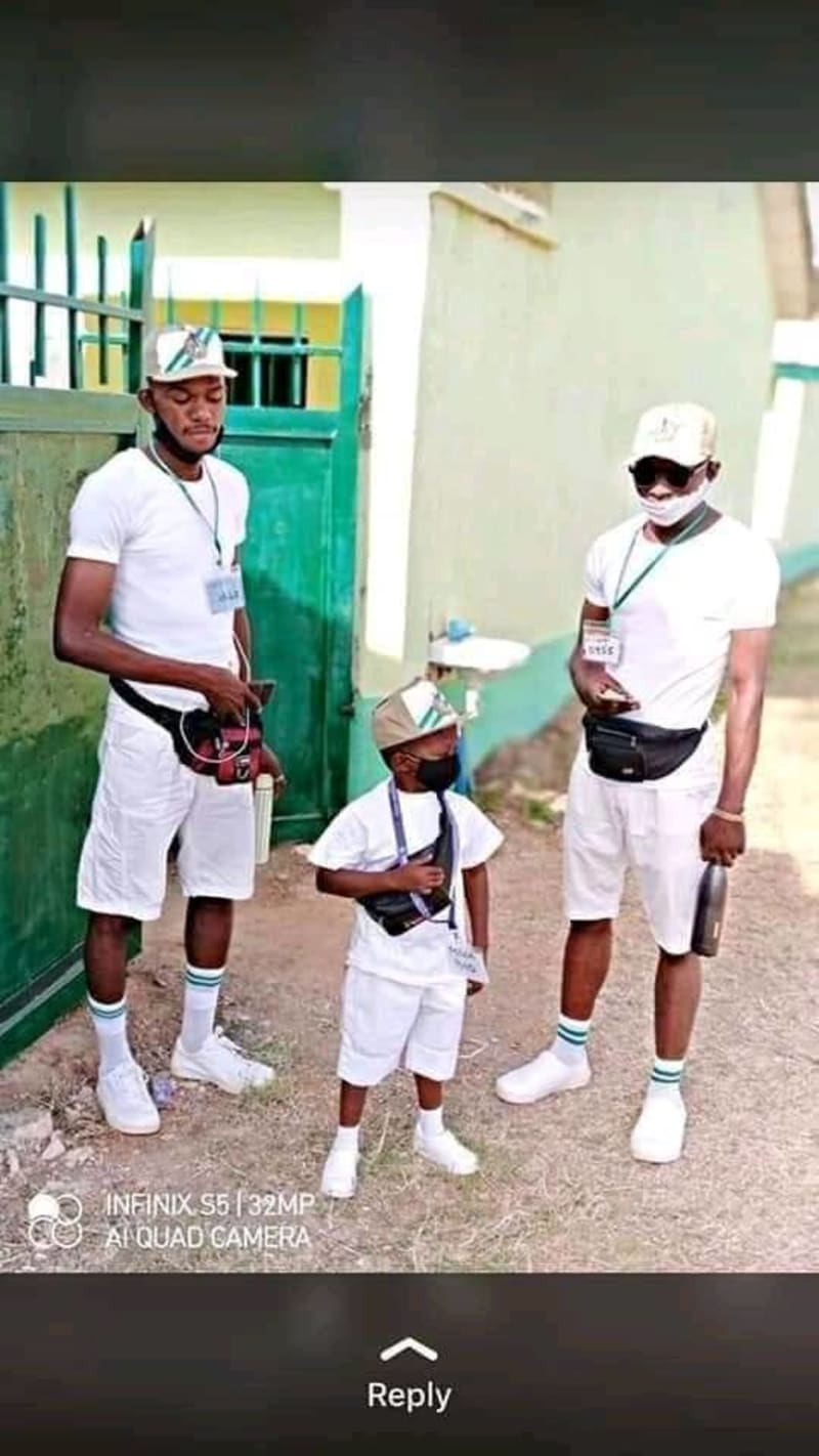 Photos Of Abu, The Shortest NYSC Corp Member Ever