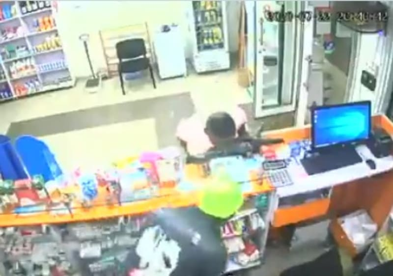 Two Thieves Caught On Camera Stealing At A Pharmacy (Video)