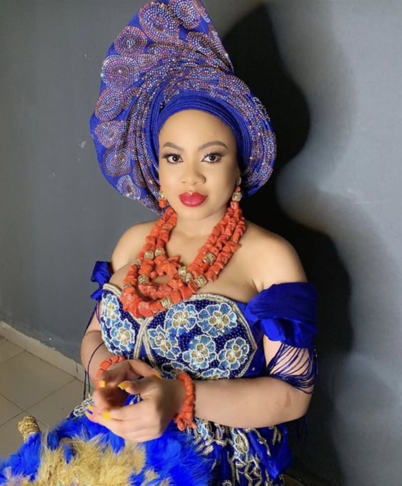 Photos and video of BBNaija Star, Nina's Wedding Introduction