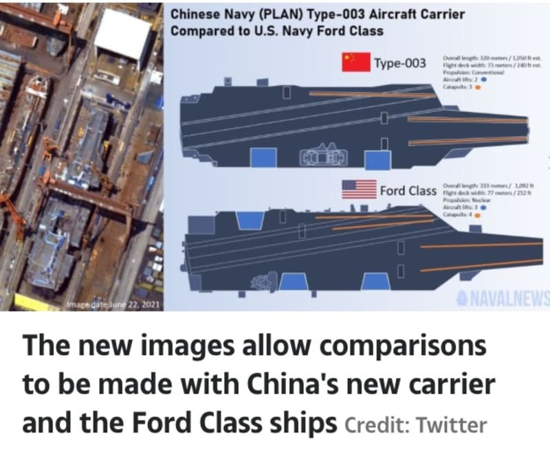 China's Biggest Ever Aircraft Carrier In Pictures