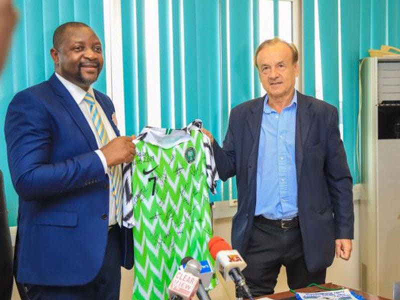 Minister Of Sports Hints At Sacking Rohr Over Poor Performance