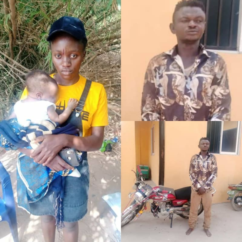 Bike Rider Arrested In Anambra For Snatching A Baby From Mother