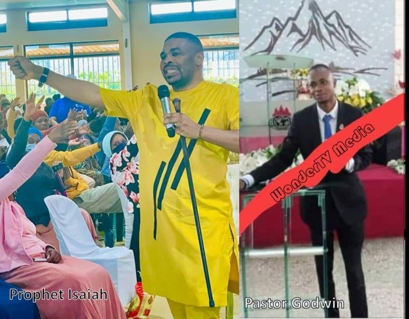 Prophet Okechukwu Gives Sacked Living Faith Pastor Cash Gift