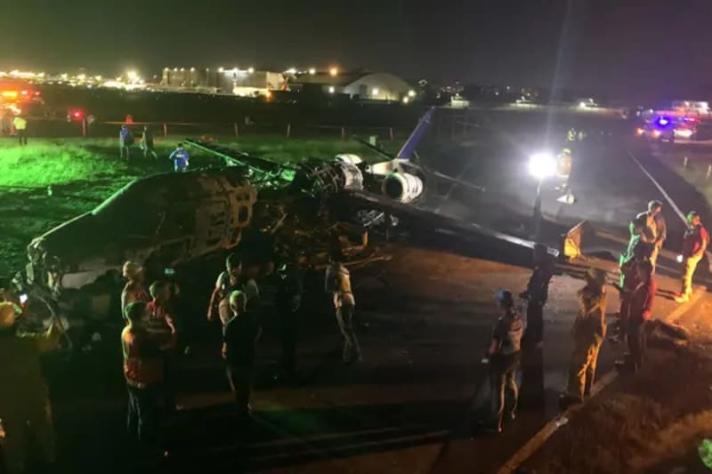 Plane Carrying Coronavirus Supplies To Japan Crashes & Explodes, 8 Dead