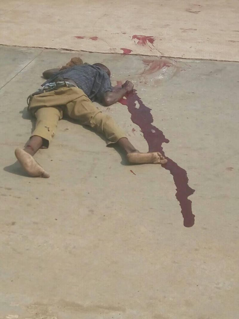 Truck Driver, Conductor Lynched For Crushing School Children (Graphic)