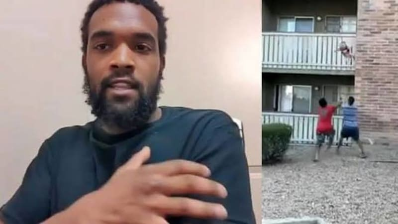 Man Saves 3-Year-Old Dropped From A Burning Apartment In Arizona (Video)