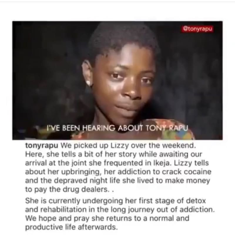 New Photos Of Lizzy, The Drug Addict Transformed By Pastor Tony Rapu