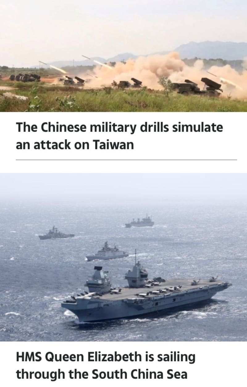 Chinese Military Warns US Is Playing With Fire & Pledges To Crush Taiwan