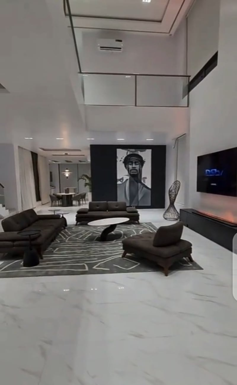 Don Jazzy Shows Off The Interior Of His New Lekki Mansion (Video)