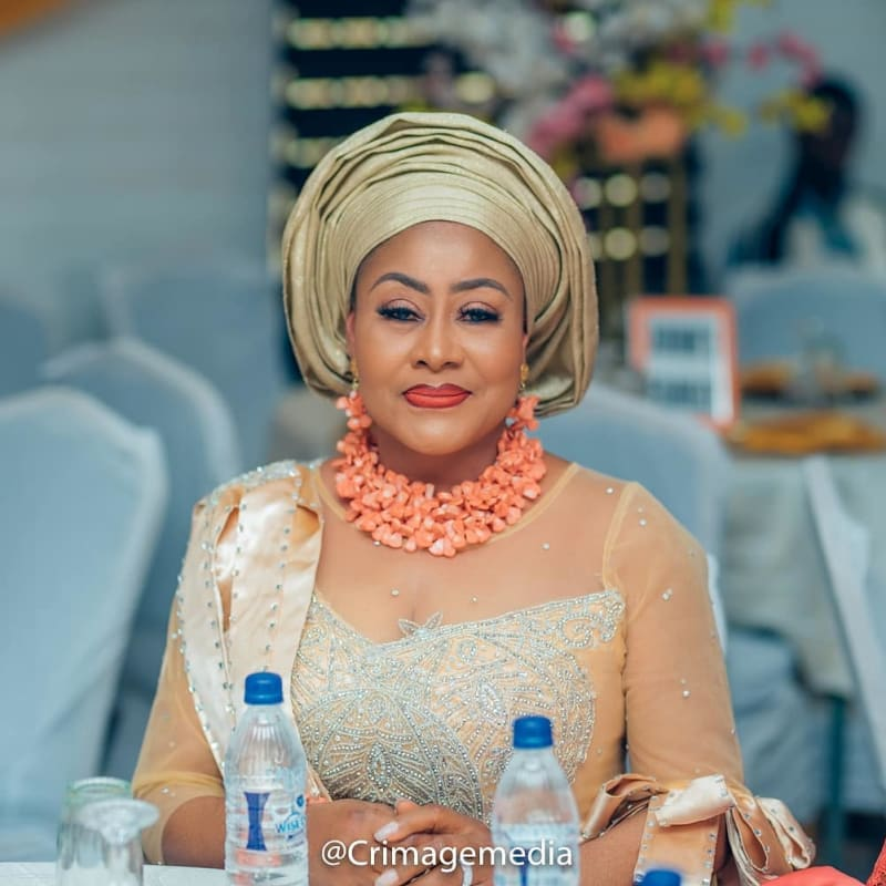 Photos From Actress Ngozi Ezeonu's Daughter's Wedding