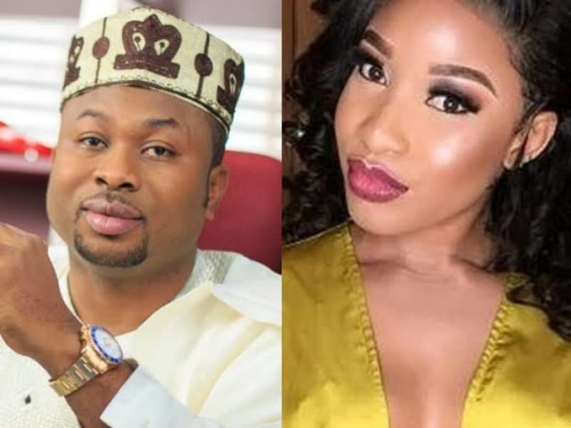 Churchill Sues Tonto Dikeh For N500million For Defamation Against Father, Others