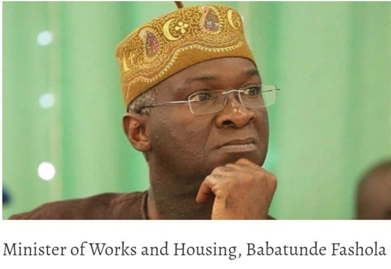 Money For Road Rehabilitated By RCCG Was Paid In 2011 And Not 2018 - Fashola