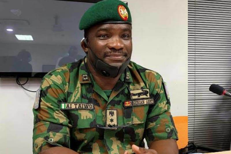 Taiwo, Officer Representing Army At Lagos Judicial Panel, Promoted To Major-Gnr