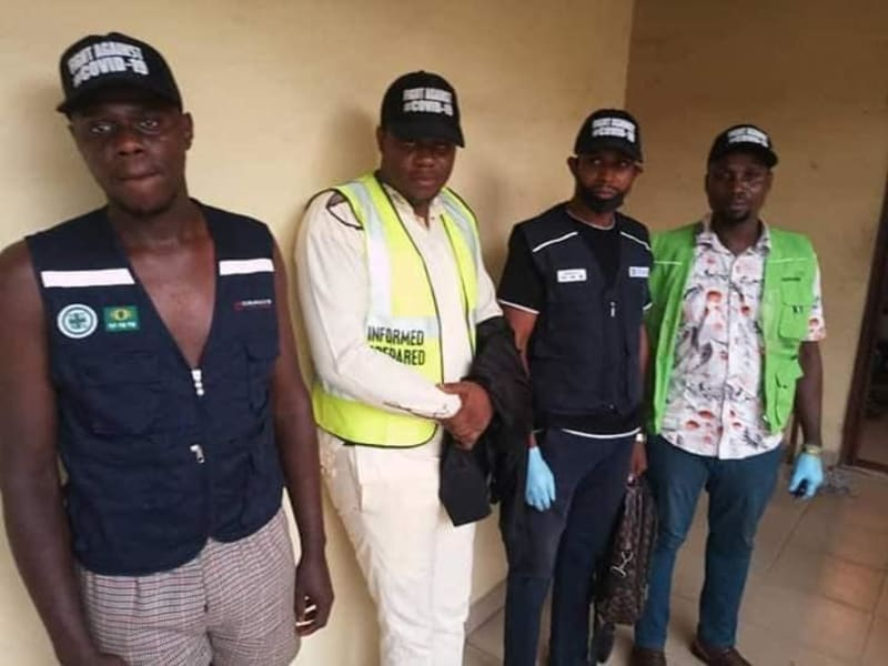 Anambra State COVID-19 Agency Impersonators Arrested (Pictures)