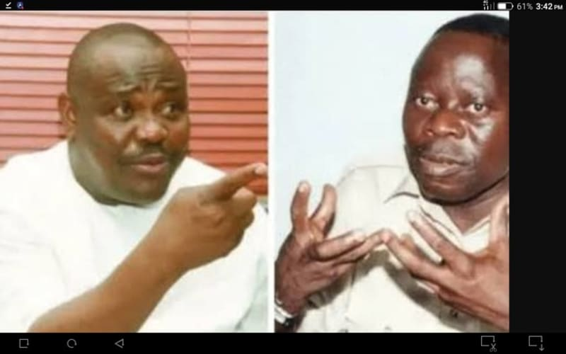 """You Are A Man Without Character"" - Wike Blasts Oshiomhole"