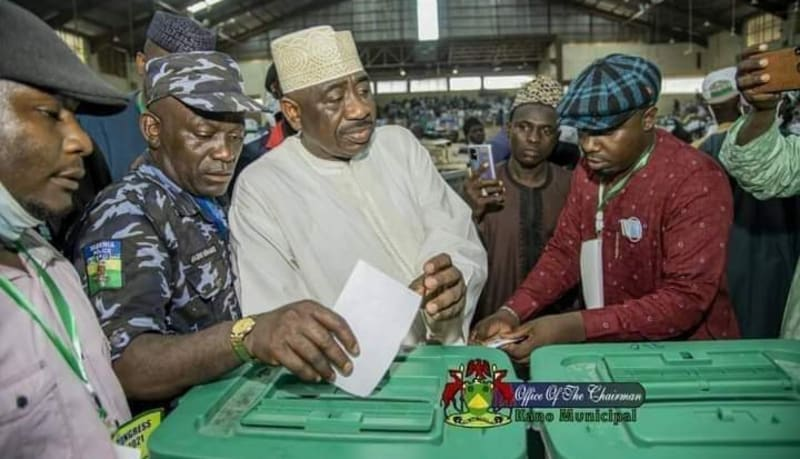 Police Probe Officer Captured Voting During Kano APC Congress