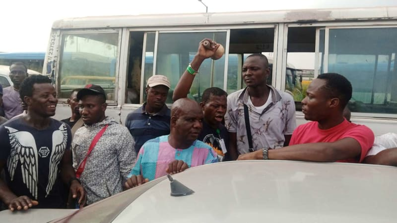 Tears As Lagos Government Auctions 44 Vehicles For Traffic Offences