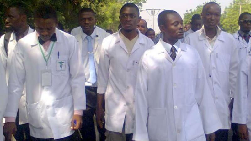 The 58 Nigerian Doctors Stopped At Lagos Airport Were Promised Millions By UK Firm