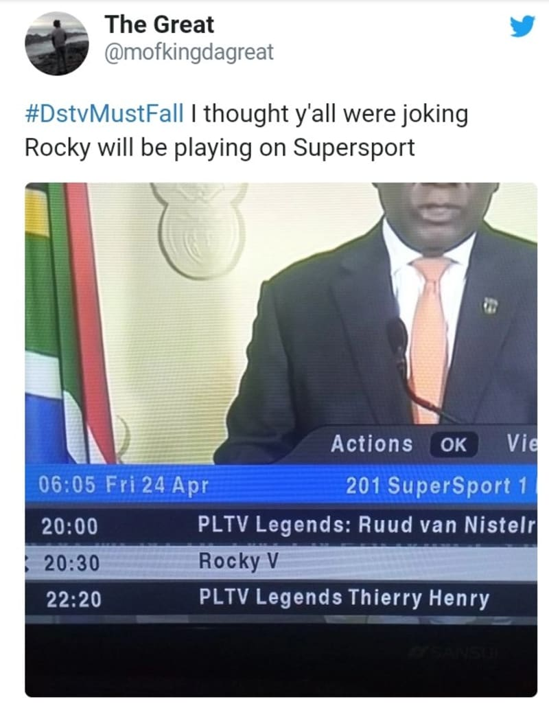 DSTV Must Fall - South Africans Demanding DSTV Cut Prices