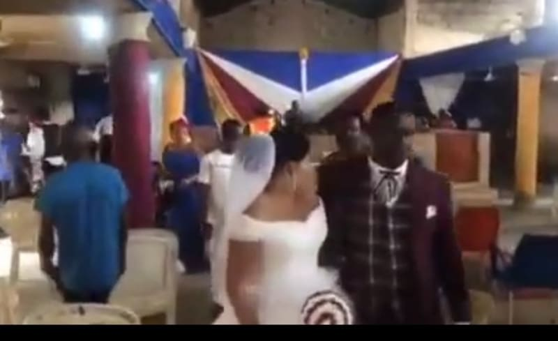 Guests Run As COVID-19 Taskforce Disrupts Wedding In Cross River