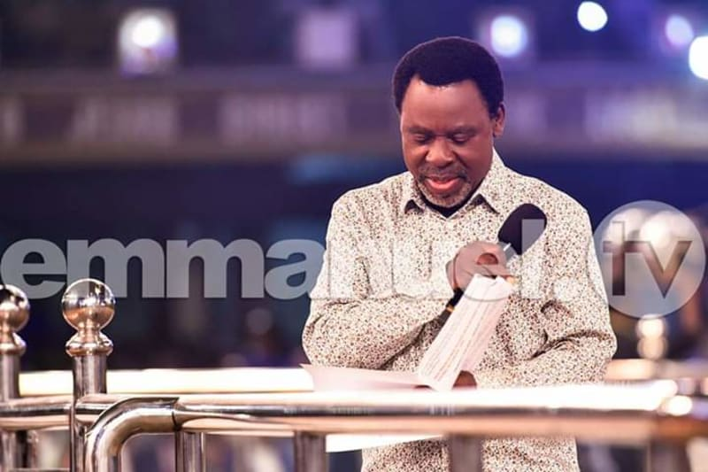 Prophecy For 2020 By Prophet TB Joshua