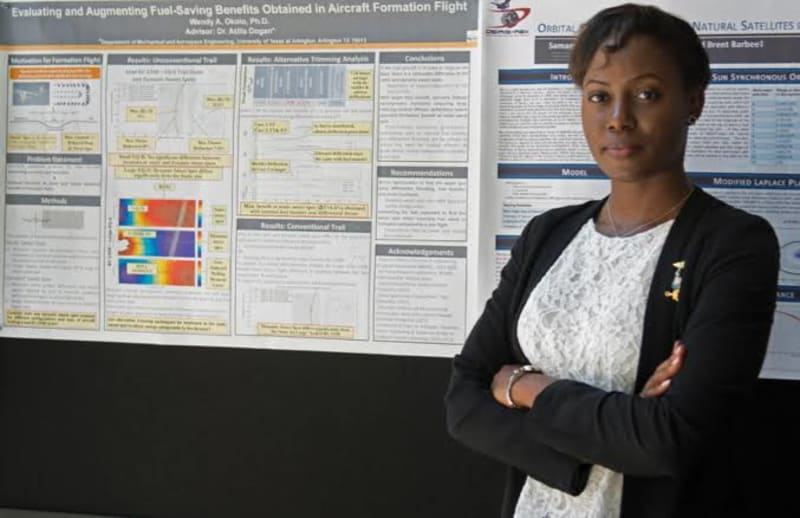 Dr. Wendy Okolo, The First Black Woman To Bag A PhD In Aerospace Engineering