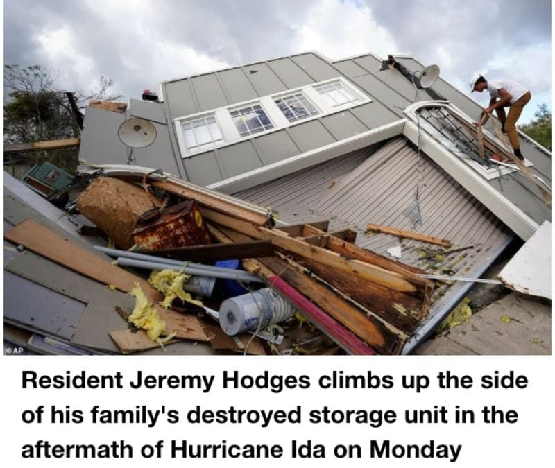 Hurricane Ida: Houma Residents Are Left Reeling As Homes Are Reduced To Rubles