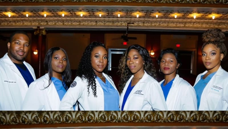 Photos Of Six Nigerian Siblings Working As Medical Practitioners Go Viral
