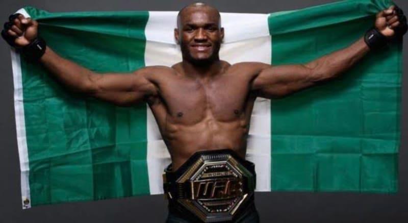 President Buhari Congratulates Kamaru Usman For Retaining UFC Title