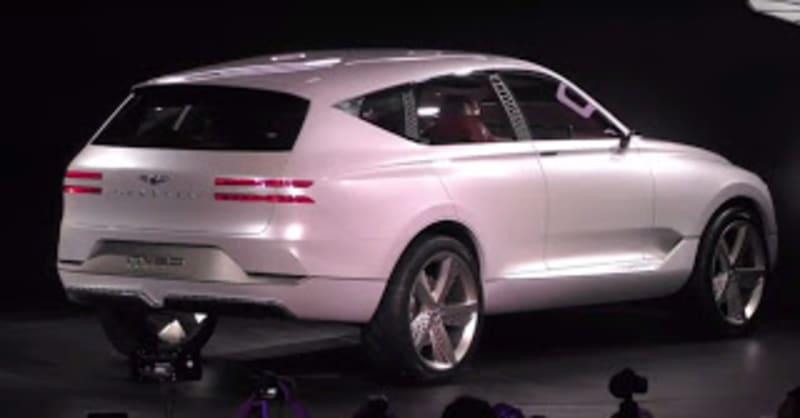 2020 Genesis GV80 SUV revealed in detail